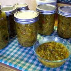 Unknownchef86's Green Tomato or Zucchini Relish