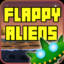 Flappy Alien-UFO Attack