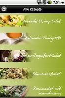Screenshot of iKochen Salate Lite