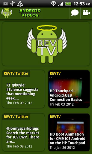 REVTV - ANDROID VIDEOS
