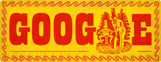 Google Doodle John Wisden's 187th Birthday