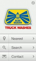 Screenshot of Blue Beacon Truck Washes