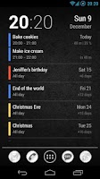 Screenshot of Neat Calendar Widget