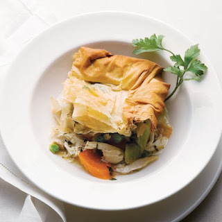 Lighter Chicken Pot Pie