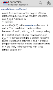 Oxford Economics Dictionary Tr screenshot for Android