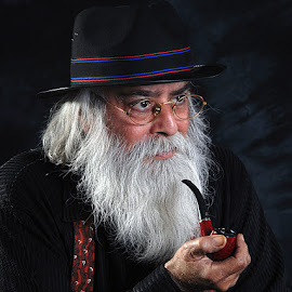Uncle Sam by Rakesh Syal - People Portraits of Men (  )