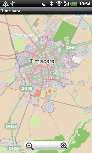 Timisoara Street Map