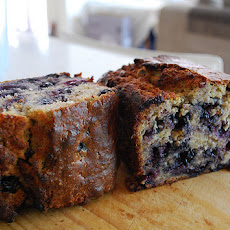 Banana Apple & Blueberry Surprise Cake