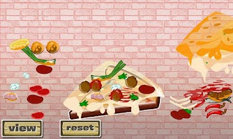 Screenshot of Cheesy Pizza Designer