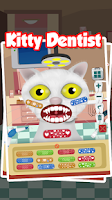 Screenshot of Kitty Dentist - Kids Game