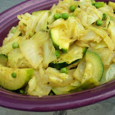 Cabbage and Vegetable Curry