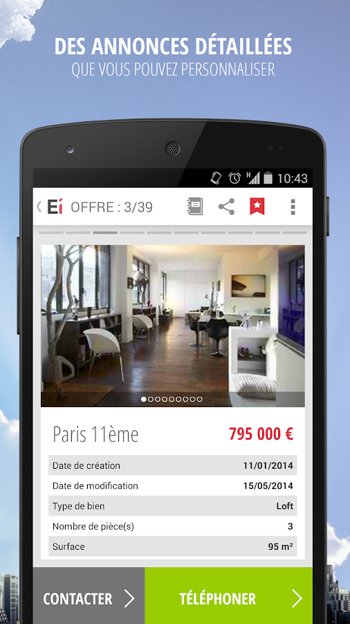 Explorimmo – Immobilier Screenshot 1