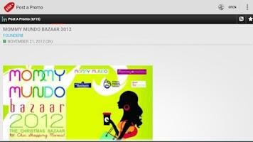 Screenshot of Philippine Promos