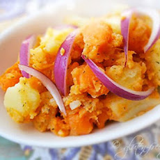Two Potato Salad Recipe with Sweet Potatoes