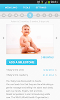 Screenshot of Mediclinic Baby - Baby