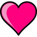 Pink Hearts Live Wallpaper icon