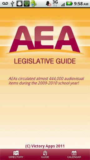 AEA Legislative Guide