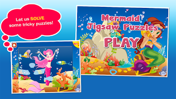 Screenshot of Mermaid Princess Puzzles Free!