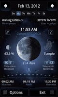 Screenshot of Deluxe Moon - Moon Calendar
