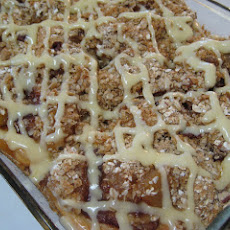 Apple Crisp Cinnamon Rolls
