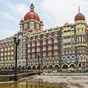 Taj Mahal Hotel , Mumbai  by Vyom Saxena - Buildings & Architecture Office Buildings & Hotels ( mumbai, taj mahal hotel, taj mahal hotel taj mahal hotel )