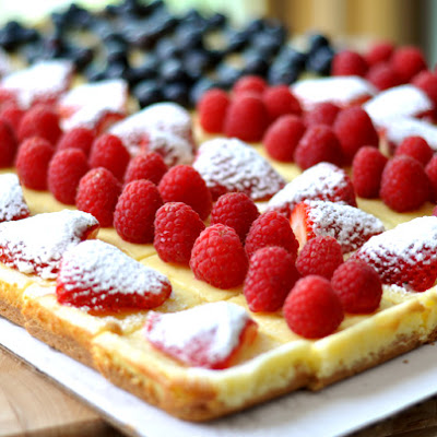 Festive Fruited Cheesecake Flag