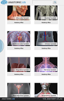 Screenshot of Anatomy Atlas Free