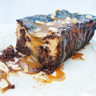 Blokey Snickers Cheesecake Loaf