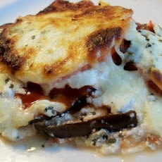 Cheesy Italian Eggplant Delight