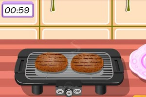 Screenshot of Hamburger Cooking Game
