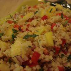 Spicy Tropical Couscous Salad