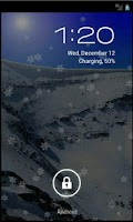Screenshot of SnowFall HD Live Wallpaper