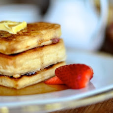 Cranberry Buttermilk Pancakes