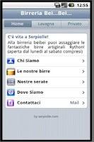 Screenshot of Birreria Bei Bei Firenze