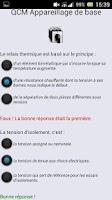 Screenshot of Apprendre l'électrotechnique