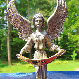 Small Angel by Christine Keaton - Artistic Objects Other Objects (  )