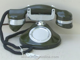 Cradle Phones - Automatic Electric Jade Green Monophone 1