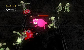 Screenshot of Mutants Rabbit Battle