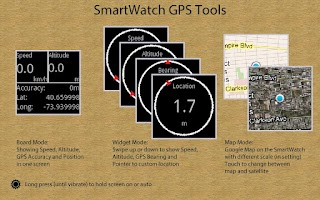 Screenshot of SmartWatch GPS Tools