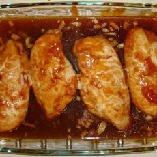 Sticky Peachy Chicken