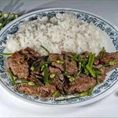 Sauted Liver With Chives Japanese Style