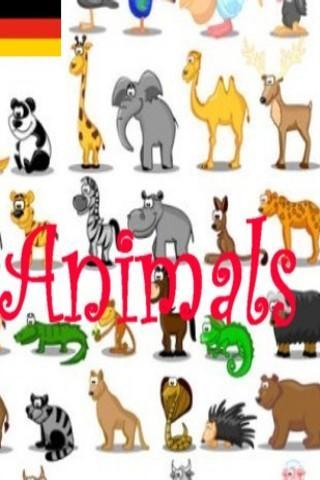 Animales en Alemán - Tiere