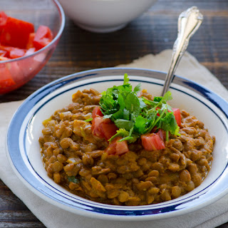 Crockpot 5 Ingredients Green Lentil Curry