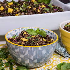 Black Quinoa Salad with Mango and Avocado