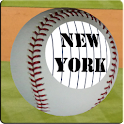 New York 3D Baseball Wallpaper