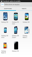 Screenshot of Samsung Accesorios