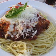 Chicken Parmigiana Tony's Town Square Restaurant