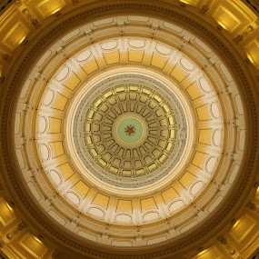 An Inside Look of the Texas State Capital by David Montemayor - Buildings & Architecture Public & Historical ( austin, state capital, texas, dome )