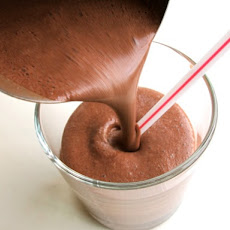 Malted Chocolate Milkshake