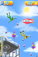 Screenshot of Skydiving Challenge